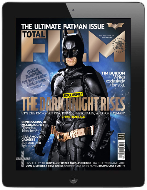 Vote for Total Film's Dark Knight Rises cover at the Digital Magazine Awards! We've been nominated for Cover Of The Year at the Digital Magazine Awards 2012 - vote for our Dark Knight Rises cover!