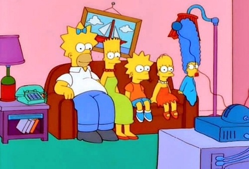 That Marge is disturbing.