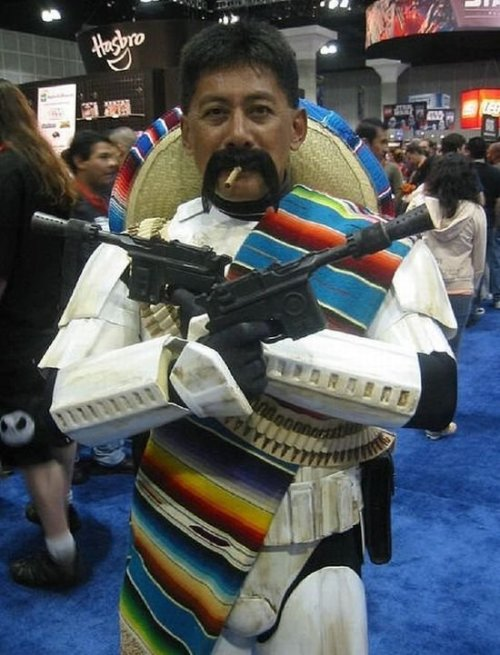 The force is strong with this Juan. :P