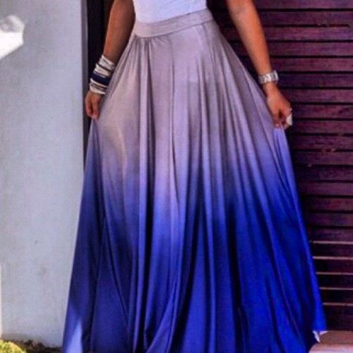 The Ombre Maxi skirt, we love the city gypsy #gypsystyle #style#summer#streetstyle#instafashion #fashion #love#girls#gypsyroad