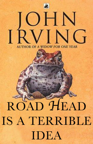 John Irving: The World According to Garp Reader Submission: Title by Mark Logan.