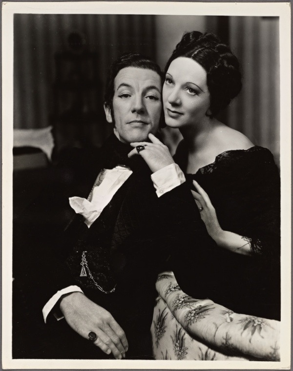 with Noël Coward in Tonight at 8:30, 1936