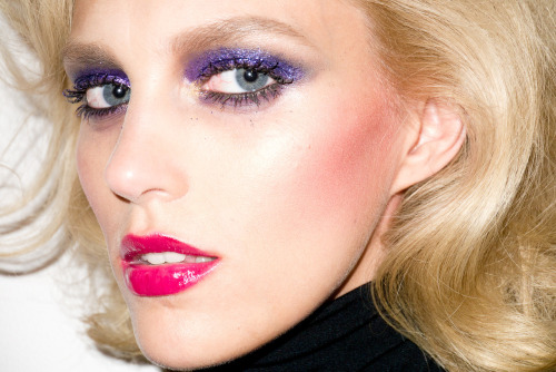 Anja Rubik at my studio #2