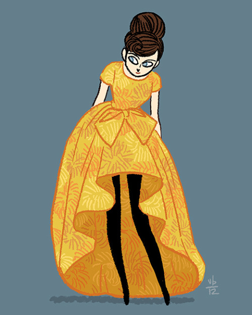 drawthisdress:  Yves Saint Laurent | c. 1960 (via defunctfashion)