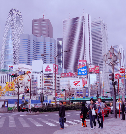 Square city by Takadanobaba Kurazawa on Flickr.