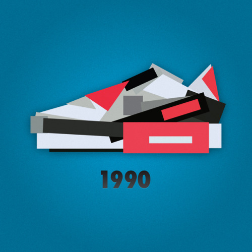 thedailystreet:  NIKE SNEAKER ILLUSTRATIONS BY JACK STOCKER