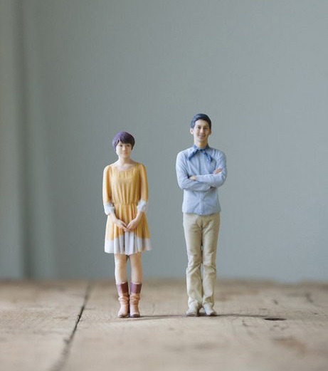 laughingsquid:  3D Printer Photo Booth Makes Figurines Instead of Photos Tokyo's stylish Harajuku district will soon be home to an unusual pop-up photo booth - customers will walk away not with photos, but with 3D printed figurines of themselves. The customers is first 3D scanned in a process that requires them to stand still for 15 minutes. A 3D model of the customer is then refined on a computer before output to a 3D printer. The figurines are available in sizes ranging from 4 to 8 inches. The 3D printer photo booth will be open November 24 to January 14, 2013. It is the work of Japanese creative studio PARTY.    It's the democratization of the figurine… No need to be famous or a superhero to have a miniature version of yourself, to put on a shelf.