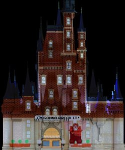 "Wreck-It Ralph will be featured in ""Celebrate the Magic,"" the new Cinderella Castle show that debuts tonight at 9:15pm. The show will receive periodic updates, like MMY did, including a Halloween version next year! DETAILS."