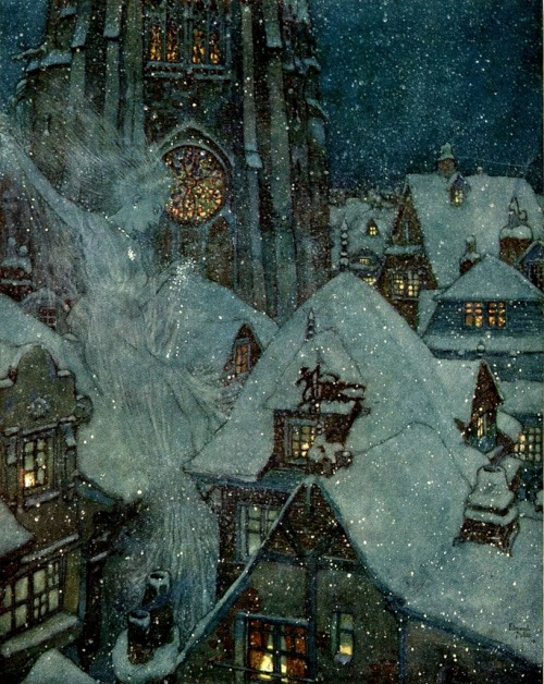 The Snow Queen illustrated by Edmund Dulac