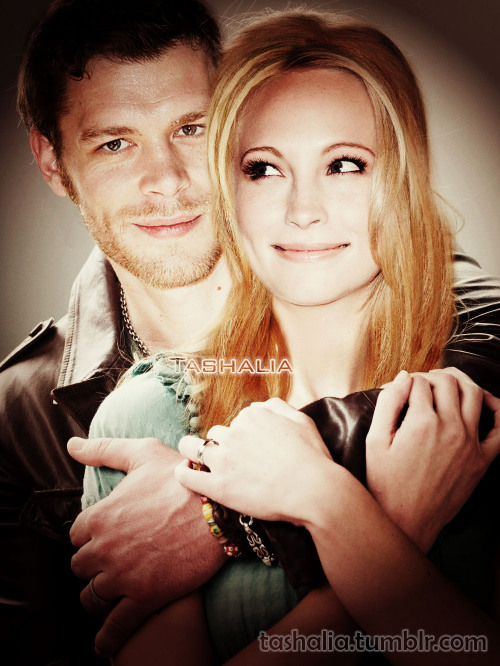New version of one my old picture)) Klaroline <3