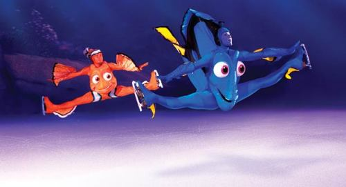 mymphr:  fuks:  disney on ice is scary  story for you  my family took me to see disney on ice when i was 6  about a minute after it started i started screaming and clamped my hands over my ears and wouldn't do anything so my dad took me outside and i cried and it was because it was too loud  and so i spent the whole time with my dad playing with a water fountain best day