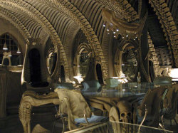 H.R. Giger Museum Bar | Posted by devidsketchbook.com