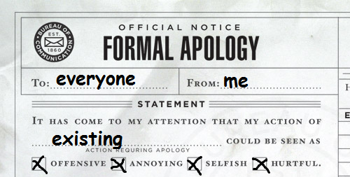 armisael:  my formal apology 2 everyone