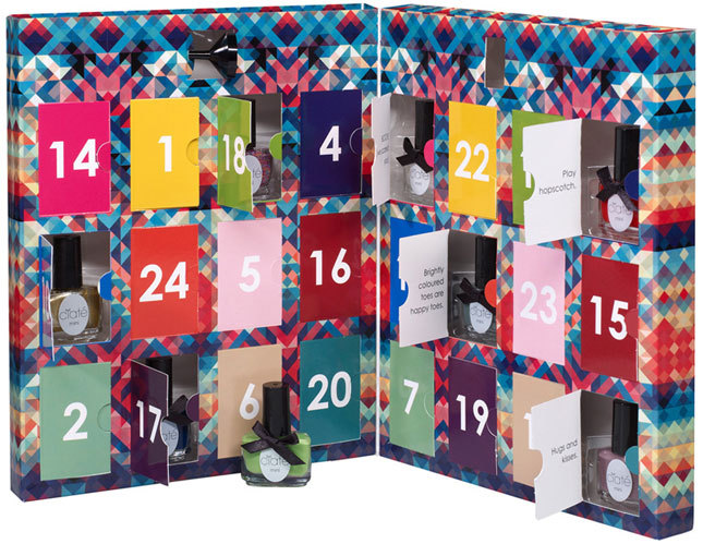 A nail polish countdown to Christmas? Yes please! What's the best advent calendar you've seen or made?
