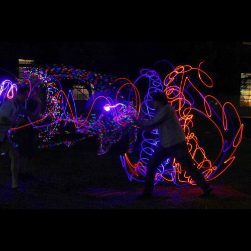 emazinglights:  Thanks to David Yi for sending us this emazing shot!! Trails for dayyyysss 😁 #emazinglights #trails #gloving #lightshows #glovers