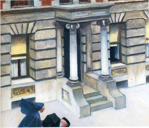 jonathangarda:  New York Pavements, Edward Hopper, 1924 /source
