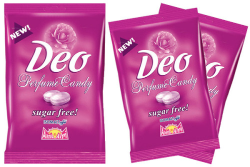 Would you ever try this deodorant candy?