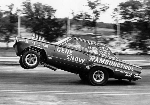 Rambunctious… Gene Snow altered wheelbase DartMopar Monday
