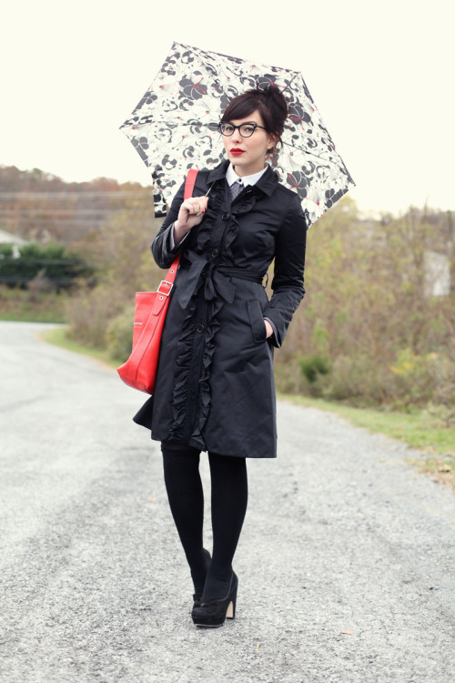 tjmaxx:  trending: dark but not drab Rainy Day Style Read More