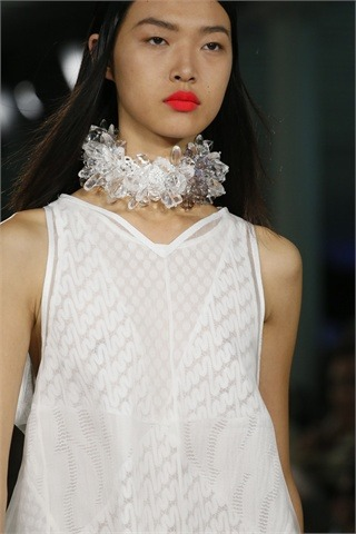 RTW S/S 2013 Highlights: Jewellery  Crystal necklace by Missoni