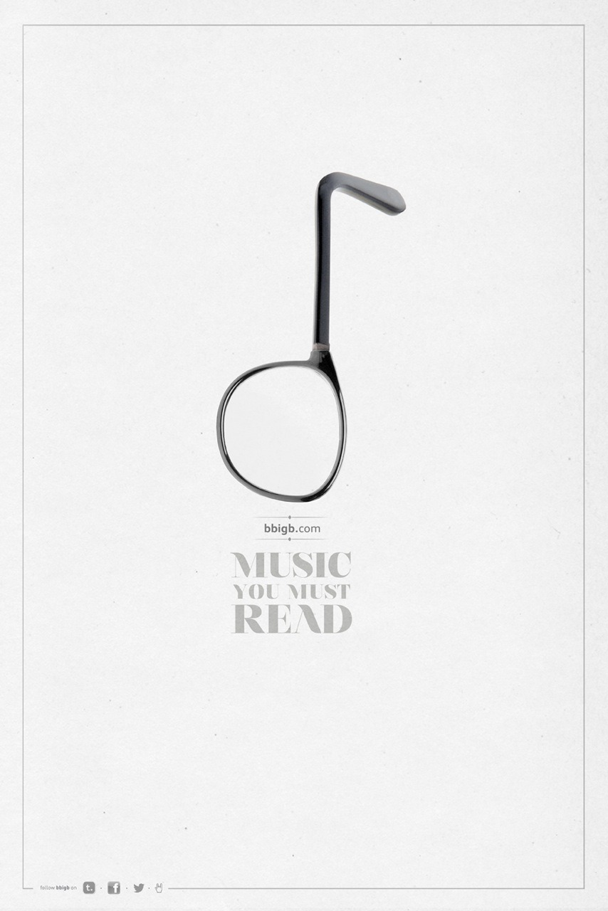 nevver:  Music you must read