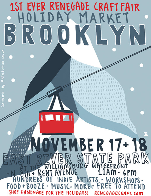 See you this weekend Brooklyn!