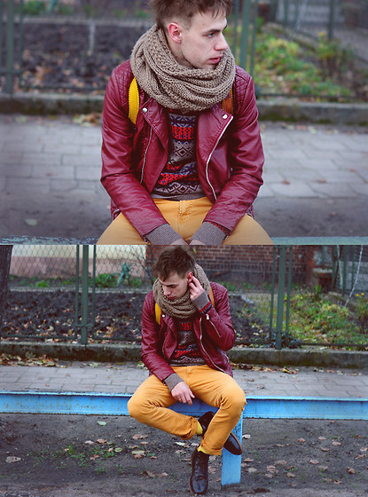 itsallaboutmalefashion:  Troubles… (by Adam G.)