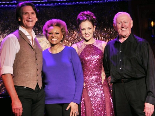 Seeing stars at 54 Below! Laura Osnes, Len Cariou, Leslie Uggams & Bob Stillman preview their new shows