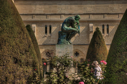 Le Penseur / The Thinker, Musée Rodin, Paris, France by Stewart Leiwakabessy on Flickr.Bonne annivérsaire, Auguste Rodin