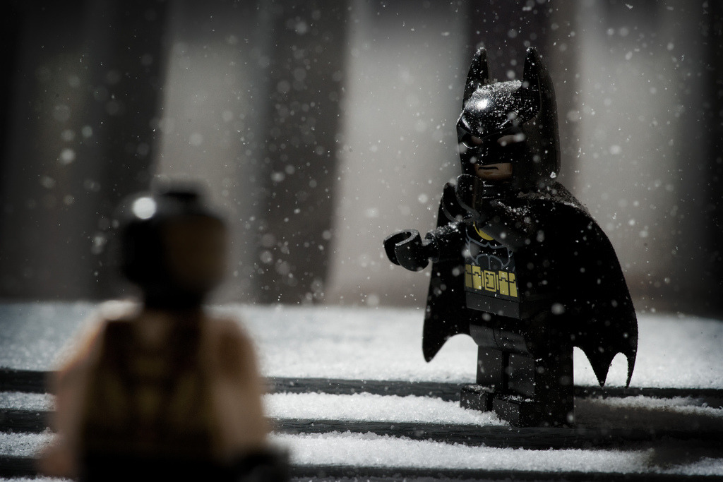 Batman V Bane (by ALXWBR)