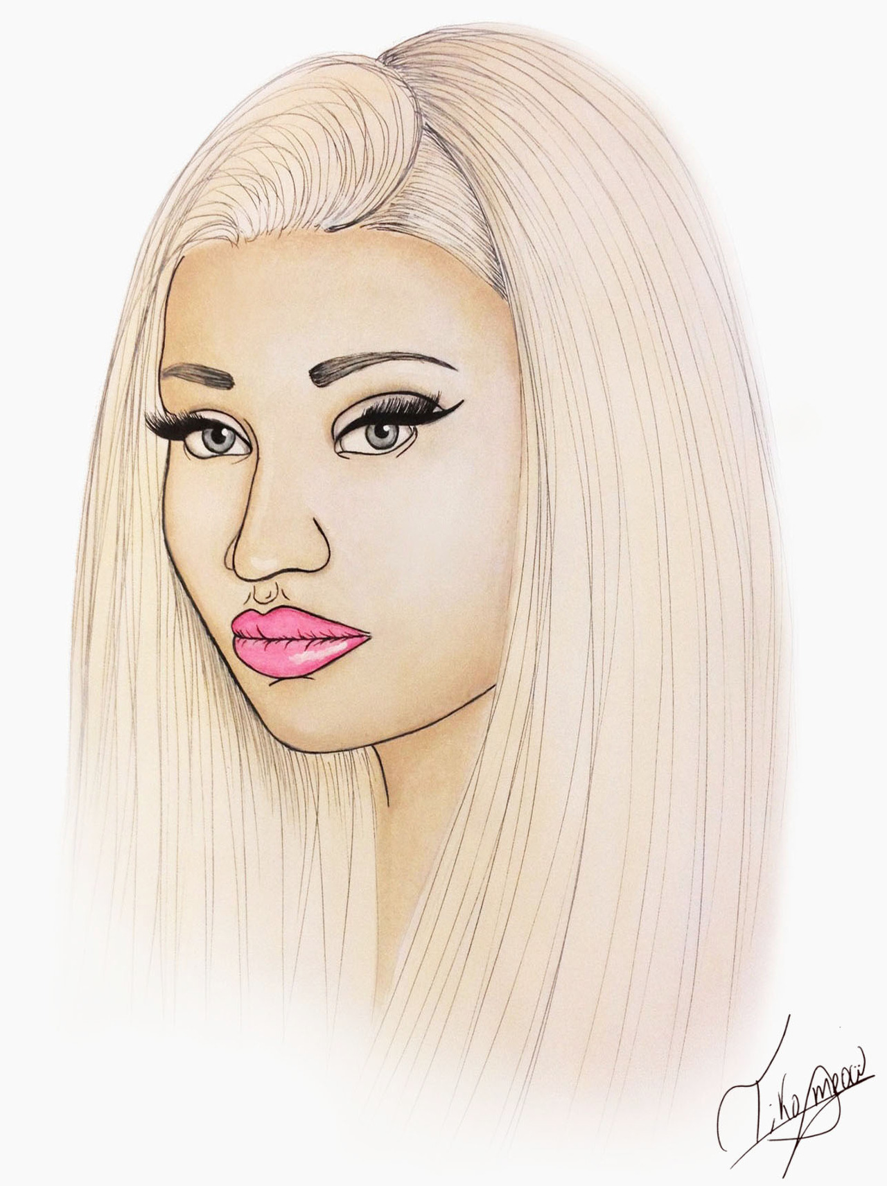 tikomeow:  Nicki Minaj (MAC Cosmetics) in London ♥