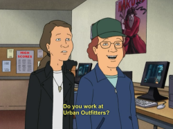 King of the Hill urban outfitters hank hill