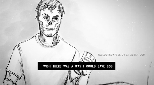 """I wish there was a way I could save Gob."" img Fallout Confessions"