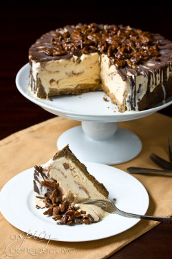 gastrogirl:  easy turtle pumpkin ice cream cake.