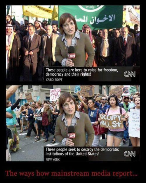 The ways how mainstream media report …