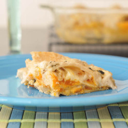 gastrogirl:  vegan and gluten-free roasted butternut squash lasagna.