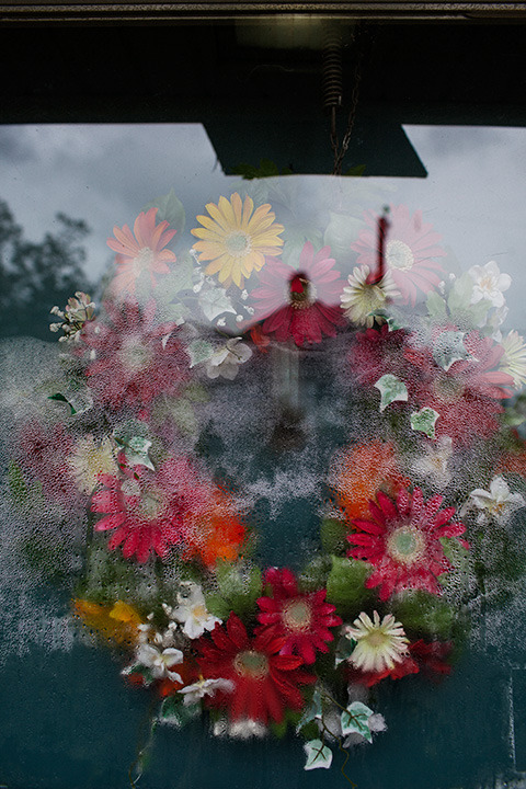 matteich:  Neighbor's wreath, Norfolk, Virginia, October 30, 2012