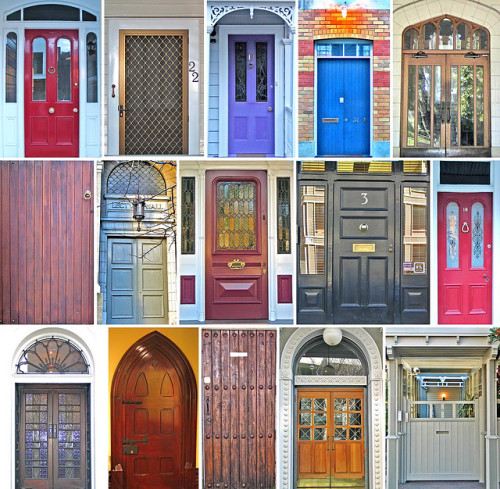 Doorways of Auckland photograph by rob511 :: via flickr.com
