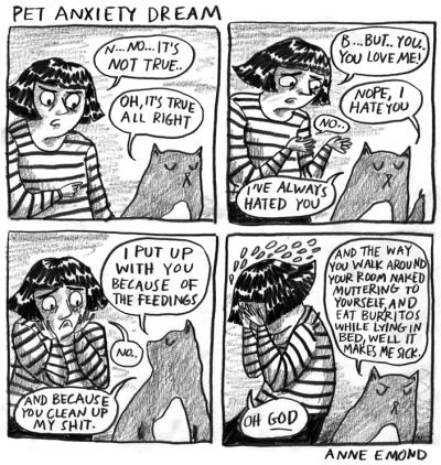 comiques:  Pet anxiety dream