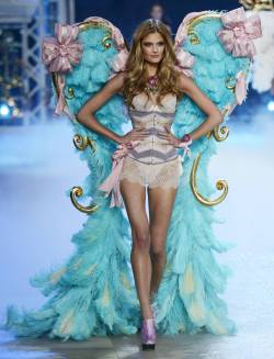 Constance Jablonski on the 2012 Victoria's Secret Fashion Show.