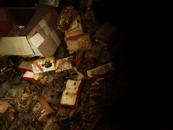 "Abandoned Forest Haven Asylum Books strewn on the floor of Forest Haven, a ""Child Development Center"" and a ""Mental Institution,"" in Laurel, Maryland  Opened in 1925, and shut down in 1991 by Federal Courts due to rampant abuse, neglects, and deaths of its patients"