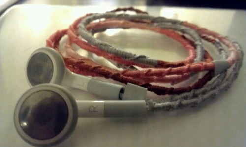 Friendship bracelet headphones