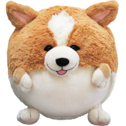 corgiaddict:  !! The corgi Squishable FINALLY went into production and you guys didn't even tell me they EXISTED! They sold out in less than 8 hours! THAT IS RIDICULOUS. I am both proud that the corgi is so popular and SAD that I some how missed out on this incredible first run phenomenon. Anyways, stayed tuned, click on the corgi squishable to sign up for the email list to be alerted of the second corgi run to be announced around Thanksgiving.