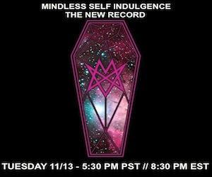 Mindless Self Indulgence Live Chat Tuesday MSI returns to Stickam Tuesday at 8:30 PM EST / 5:30 PST for a live chat!   Rumor has it the amazing Chantal Claret will be in the house, too!  Spread the word and join the fun live at http://stickam.com/tourcrush :)