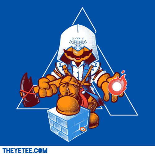 it8bit:  Plumbers Creed  T-shirts for $11 at The Yetee. Created by Nathan Davis