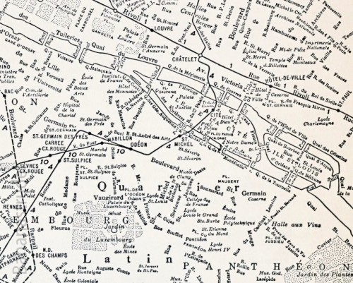 Map of Paris (1937)