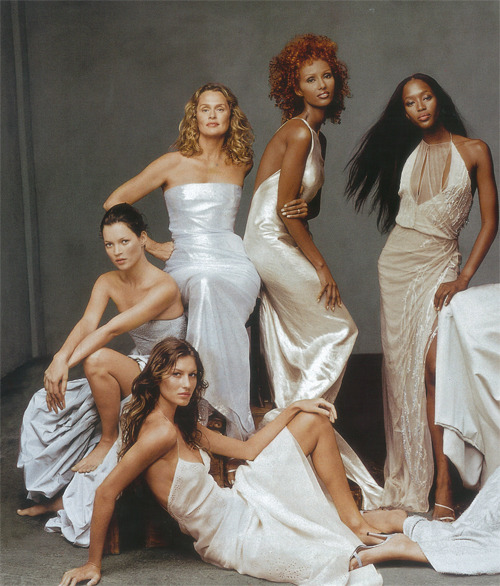 Supermodels by Annie Leibovitz, 1999