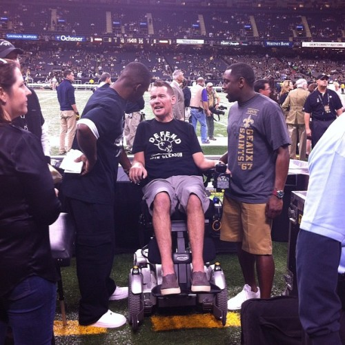 Team Bayou87 #nfl #neworleans #saints #nola Team Gleason 37 #goodtimes #louisiana #love (at Mercedes Benz Superdome)