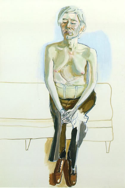 Alice Neel, Andy Warhol