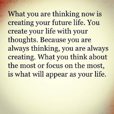 #Quote on #life, thinking, #perspective +  #creation. #Love it, #do it, show it: #live it.